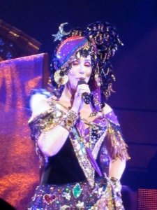 Cher channelling Madame Fortuna